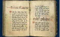 King Richard II's #recipe book The Forme of Cury, (cury meaning #food) written in 1390. The book is being digitally #photographed and put on the internet by the University of Manchester's John Rylands University Library: