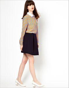 Floral print blouse, long sleeve top, shirt fashion, final clearance ghl01500, yrb, fashion, yrbfashion, cute dress, uk europe usa style,