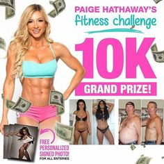 30 DAY FITNESS CHALLENGE! READ BELOW HOW TO ENTER! - TAG A FRIEND TO TAKE THE CHALLENGE! HERE ARE THE DETAILS Best transformations after 30 days win CASH! All contestants submit photos (photos are subject to approval) with a current dated newspaper AND 360 video along with their fitness goals and current stats. I provide you with a diet and workout plan for the entire month. Best Transformations after 30 days will be featured and take home GRAND PRIZES TOTALING 10000$ Challenge: One Time…