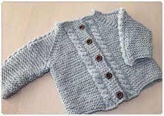 Ravelry: Magnus Jakke til baby pattern by Guri Østereng Halvorsen H Design, Knitting For Kids, Baby Patterns, Barn, Sweaters, Ravelry, Fashion, Jackets, Tejidos