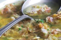 Oběd od babičky Cheeseburger Chowder, Guacamole, Potato Salad, Menu, Soup, Potatoes, Chicken, Breakfast, Ethnic Recipes