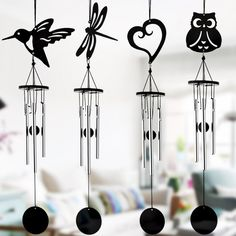 Cheap pendant small, Buy Quality pendant decoration directly from China pendant black Suppliers: Black Metal Handicrafts Manual Multi-tube Music Wind Chime Ornaments Creative Birthday Gifts Home Small Decorative Pendant Hanging Ornaments, Hanging Decorations, Garden Ornaments, Creative Birthday Gifts, Shop Doors, Outdoor Doors, Handmade Home, Black Metal, Wind Chimes