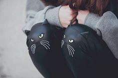 cat knee leggings