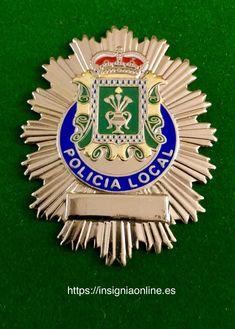 Placa policía Local Pola de Siero (Asturias)