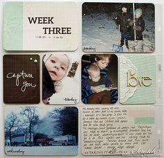 UKE 3 - DT LINDA Project Life, Avatar, Polaroid Film, Projects, Log Projects, Blue Prints