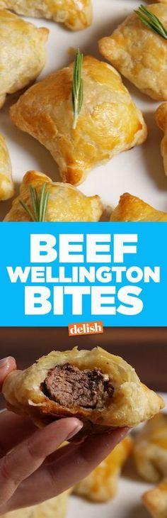 Beef Wellington BitesDelish