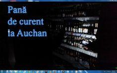 VIDEO EXCLUSIV! PANĂ DE CURENT LA AUCHAN în plină goană a cumpărăturilor de Anul Nou – sute de clienți, în beznă minute bune