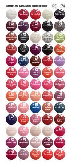 Nails Colors Sns Powder Ideas For 2019 Dip Nail Colors, Sns Nails Colors, Nail Colour, Toenail Color, Gel Color, Hair Colors, Colours, Sns Nail Powder, Nail Dipping Powder Colors