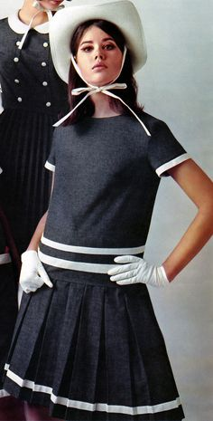 47 Ideas For Vintage Fashion Colleen Corby 60s Mod Fashion, Teen Fashion, Fashion Models, Vintage Fashion, Gothic Fashion, Retro Mode, Mode Vintage, Colleen Corby, 20th Century Fashion