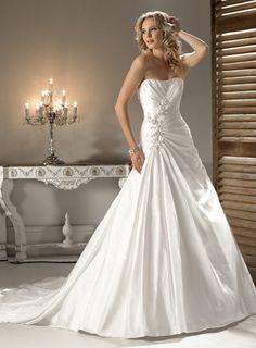 A-line Sleeveless Satin Floor-length bridal gown,maternity wedding dresses,maternity wedding dresses,maternity wedding dresses