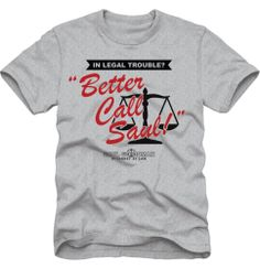 "Breaking Bad """"Better Call Saul"" T-Shirt"" @ Official Breaking Bad Store"