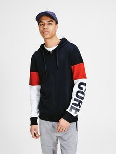 c278415af8e05a Jack   Jones Detailreiches Sweatshirt