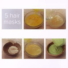 DIY Hair Masks: Dry, Damaged Hair