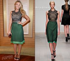 Blake Lively runway to realway