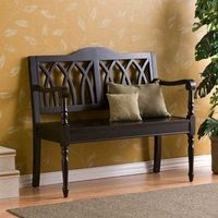 Italian Cathedral Arch Tuscan Entry Bench