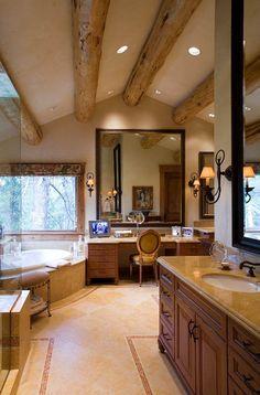 Custom Bathrooms - Teton Heritage Builders