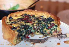 Deep dish tart from Sis Boom Blog #tart #recipe