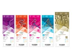~Ticket designs for 2012 London Olympics...