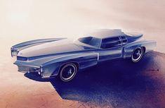 Roger Hughet Oldsmobile Toranado concept 1968