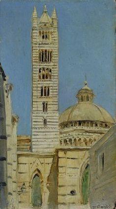 Scorcio del Duomo di Siena 1890