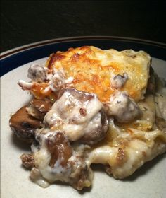 Mushroom and Italian Sausage Lasagna is not only a keeper recipe – just add a salad and you have a meal. Add a nice glass of water and you have a dinner you'll be proud to serve anyone!