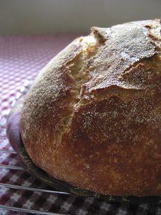 my first no knead bread #no_Knead_bread