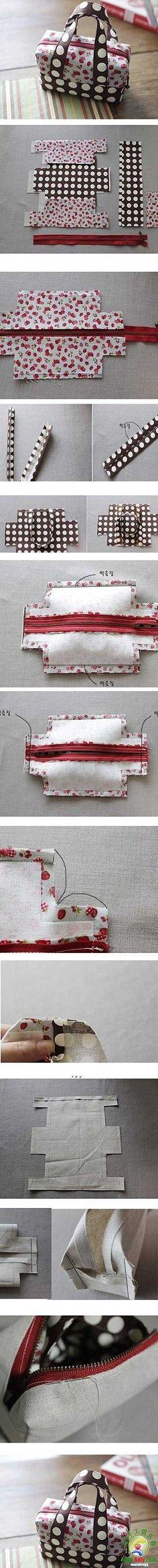 DIY: envelope/rectangle bag