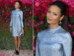 The Always Flawless Thandie Newton In Stella McCartney - Jimmy Choo The Season Dinner Party