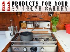 Our favorite 11 products that make life aboard our 38 foot, 1979 Morgan sailboat,Wanderlust, much easier.1. Wall Mount Knives ($50)This wall mounted mini
