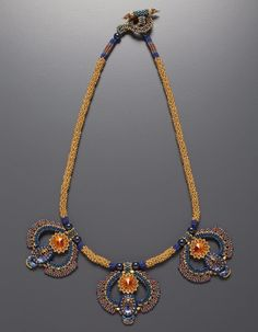 Egyptian Revival Necklace Kit, classic color way