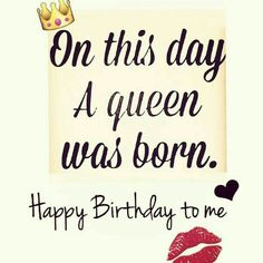 Happy Birthday Day to me.It's my Birthday. It's my Birthday! Thankful to be alive to see 51 years of life. Birthday Month Quotes, Cute Birthday Wishes, Birthday Wishes Quotes, Happy Birthday Messages, Happy Birthday Images, Birthday Greetings, It's My Birthday Today, Leo Birthday Month, Birthday Quotes For Me August