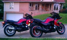 1984 and 1985 GPZ 750 turbos