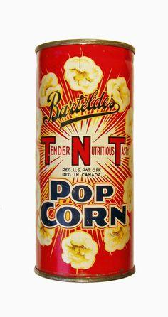 Antique Tins | Fentress Antique Popcorn Museum Site: Popcorn Tins