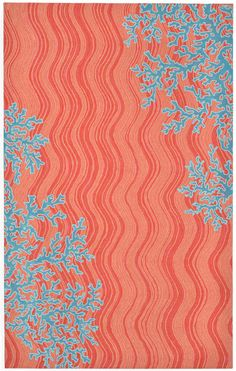 Find This Pin And More On Coastal Decorating. Visions IV Coral Reef 325517  Orange ...