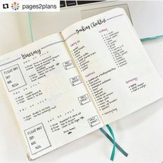 10 ways to use a bullet journal for travel - ForeverGoodLife.com