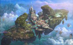 Castle in the Sky by SangSubKim