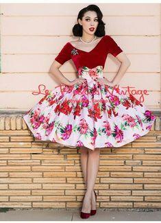 Vintage Style Dresses, 50s Dresses, Vintage Outfits, Girls Dresses, 1960s Fashion, Fashion Models, Vintage Fashion, Black Girl Fashion, Look Fashion