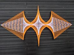 String Art Spaceship by TreeOfDreamsDeco on Etsy