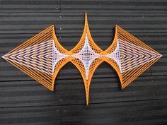 String Art Spaceship par DeRevesEnReves sur Etsy