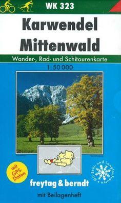 Karwendel Mittenwald, WK 323 by Freytag-Berndt und Artaria