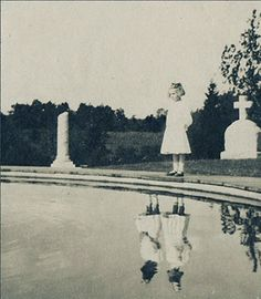 Very 'weird' picture developed after taken in cemetery