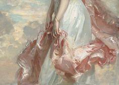 Miss Mathilde Townsend, 1907 (detail) by John Singer Sargent (American, 1856-1925)