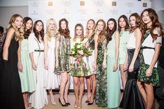 LUBLU Kira Plastinina SS14 fashion show. Picture of Kira Plastinina and models.