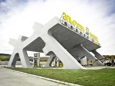 rest stop by J. MAYER H. Architects