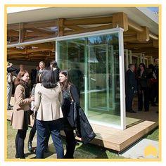 El pabellón de papel, en el campuso madrileño de la IE University. http://www.f3arquitectura.es/papel/