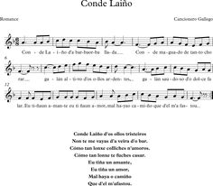 Conde Laiño. Romance del Cancionero Gallego