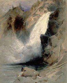 Thomas Moran, The Upper Falls of the Yellowstone, 1872