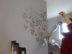 Pochoir Mural A Peindre Avec Pochoir Mural Awesome Pochoir En Mylar Coeur Love Arbre Rustique Idees Et Image Avec 1706x1280px