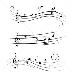 Various sheet music musical notes. Free art print of Sheet music musical notes. Sheet Music Tattoo, Music Tattoos, Tatoos, Tattoo Noten, Zentangle, Music Notes Art, Art Music, Music Cakes, Music Drawings