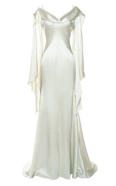 Double-Face Satin Gown by Zac Posen - Moda Operandi
